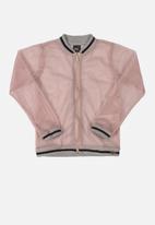 Gloss - Girls woven jacket - light pink