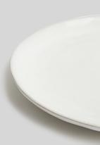 Sixth Floor - Zizou dinner plate set of 4 - white