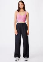 Factorie - Tailored pant - black