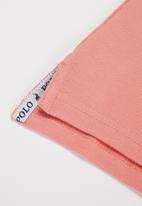 POLO - Girls nina short sleeve golfer - pink