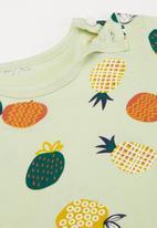 POP CANDY - Boys pineapple tee - green