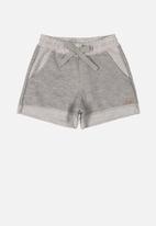 Quimby - Girls sweat shorts - grey