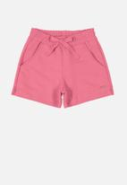 Quimby - Girls sweat shorts / pink