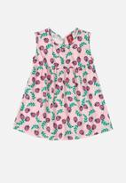 Bee Loop - Girls printed dress - lilac