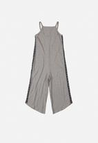 Gloss - Jersey jumpsuit - grey