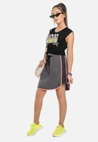 Gloss - Girls easy skirt - dark grey