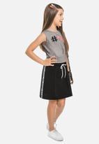 Gloss - Neoprene skirt - black