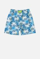Quimby - Microfiber swimshorts - blue