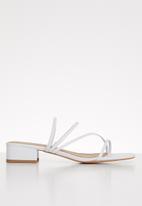 Superbalist - Shola mule heel - white