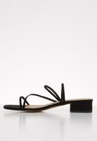 Superbalist - Shola mule heel - black