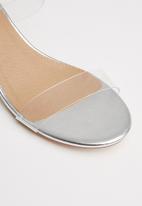 Superbalist - Queen mule heel - silver