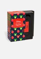 Happy Socks - 4-pack disney holiday gift set - black/red