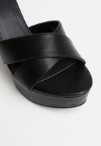 Cotton On - Esther platform heel - black