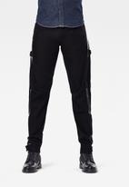 G-Star RAW - Scutar 3d slim ct-relz black denim - black