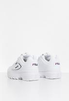 FILA - Disruptor 2 logo reveal sneakers - white