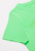 name it - Victor short sleeve tee - green