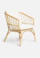 Sixth Floor - Toba rattan arm chair - natural