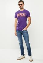 Diesel  - Sleenker-x trousers - blue