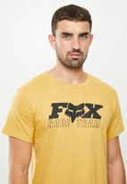 Fox - Race team v2 tee - yellow