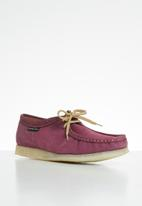 Grasshoppers - Tint suede - doebuck mulberry