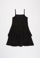 Sissy Boy - Open heart dress - black