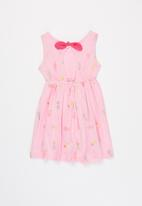 POP CANDY - Girls printed sleeveless dress - pink
