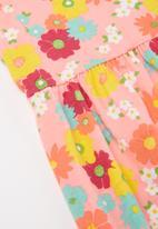POP CANDY - Girls floral flutter sleeve dress - multi