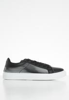 KANGOL - Shiver sneaker - black/pewter