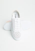 KANGOL - Jamaine sneaker - white/pink