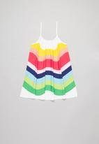 POP CANDY - Girls halter neck colourful dress - multi