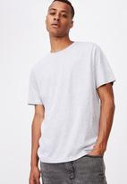 Cotton On - Essential crew tee - grey marle