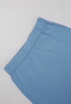 POP CANDY - Boys printed bodysuit & pants set - white & blue