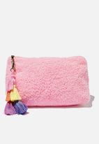Cotton On - Solitude slipper set - strawberry milkshake