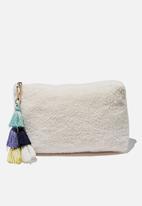 Cotton On - Solitude slipper set - white