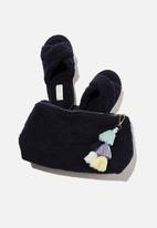 Cotton On - Solitude slipper set - navy