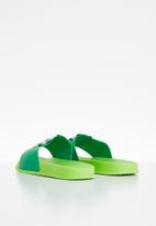POP CANDY - Boys panda slides - green