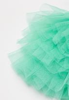POP CANDY - Baby girls tutu skirt with bow - turquoise