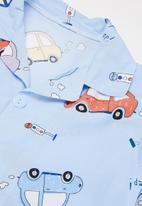 POP CANDY - Boys car pj set - blue