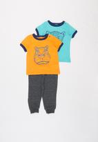 POP CANDY - Tiger tee & pants set - multi