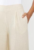 Cotton On - Wide leg paradise pants - latte