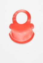 POP CANDY - Baby bee waterproof bib - red & yellow