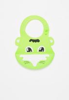 POP CANDY - Baby waterproof bib - lime