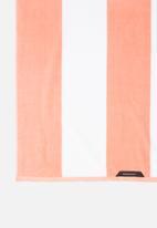 Linen House - Cabana beach towel - peach