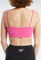 Reebok - Cld small logo bra - proud pink