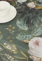 Hertex Fabrics - Rogier tablecloth - sage