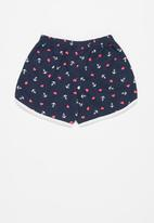 POP CANDY - Girls printed shorts - navy