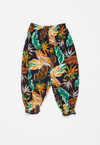 POP CANDY - Girls floral cuff pants - multi