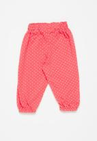 POP CANDY - Girls printed pants - coral