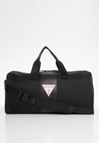 GUESS - Central small duffel - black