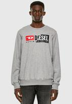 Diesel  - S-girk-cuty sweat-shirt - grey